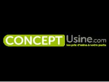 Code réduction Concept Usine