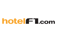 Code réduction Hotel F1
