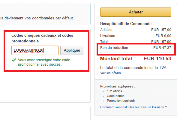 bon de reduction amazon livre