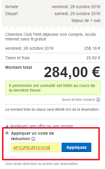 hotels.com réduction