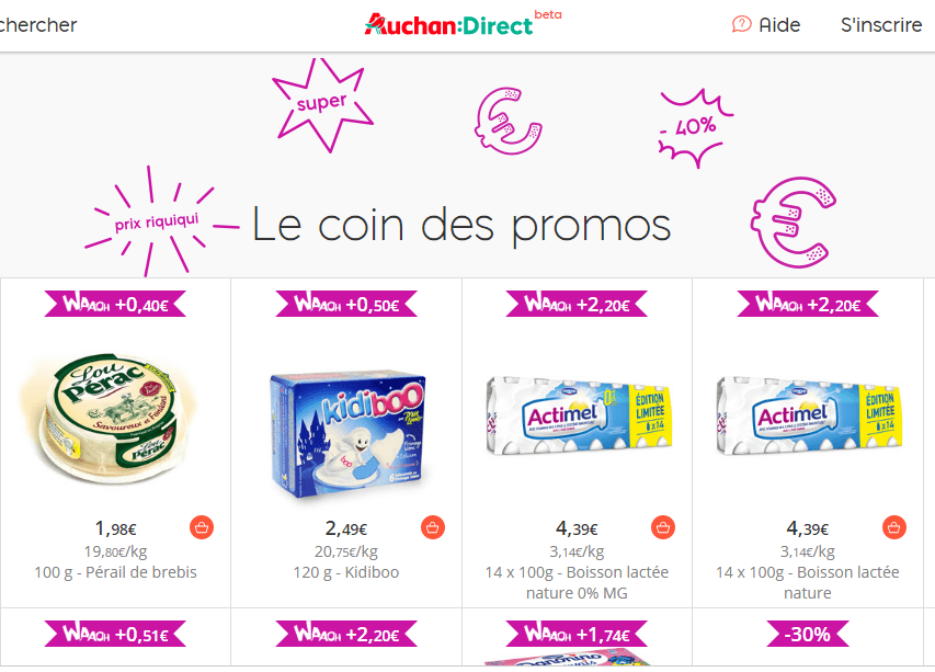 auchan direct promo