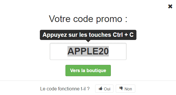 rue du commerce coupon