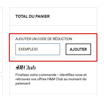 Code promo H M → 50% offerts   Janvier 2019   L Express c4f9e38907fd
