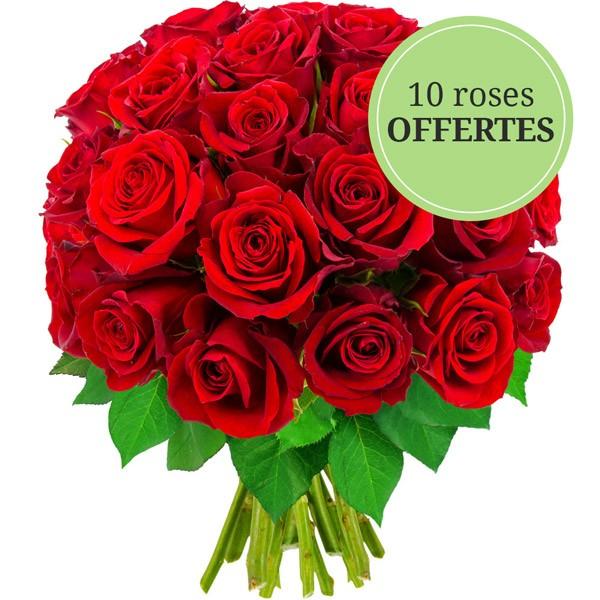 Bouquet de 30 roses