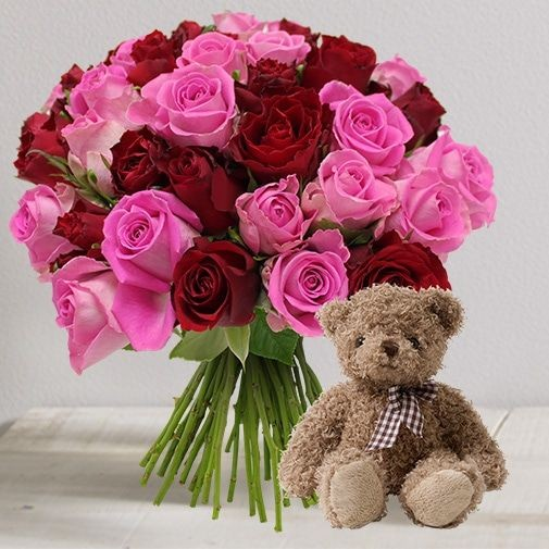 Bouquet Interflora Saint Valentin