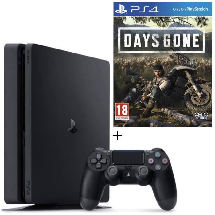 Pack PS4 500 Go Noire + Days Gone