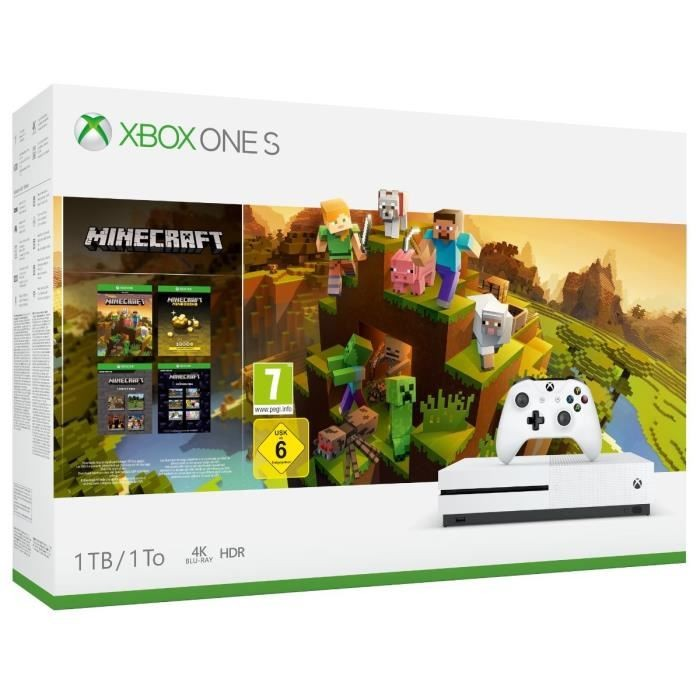 Xbox One S 1 To Minecraft Creator
