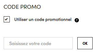 comment utiliser un code promo [retailer]