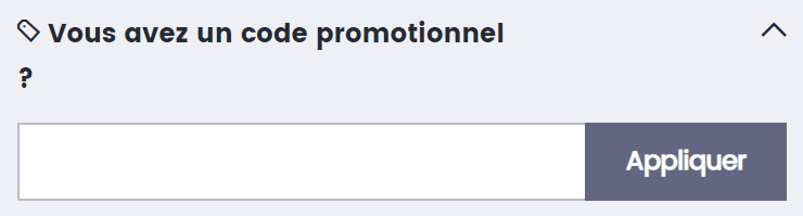 comment utiliser un code promo Photobox