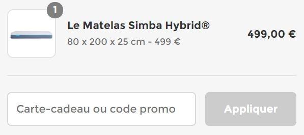 comment utiliser un code promo Simba