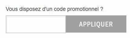 comment utiliser un code promo Homair