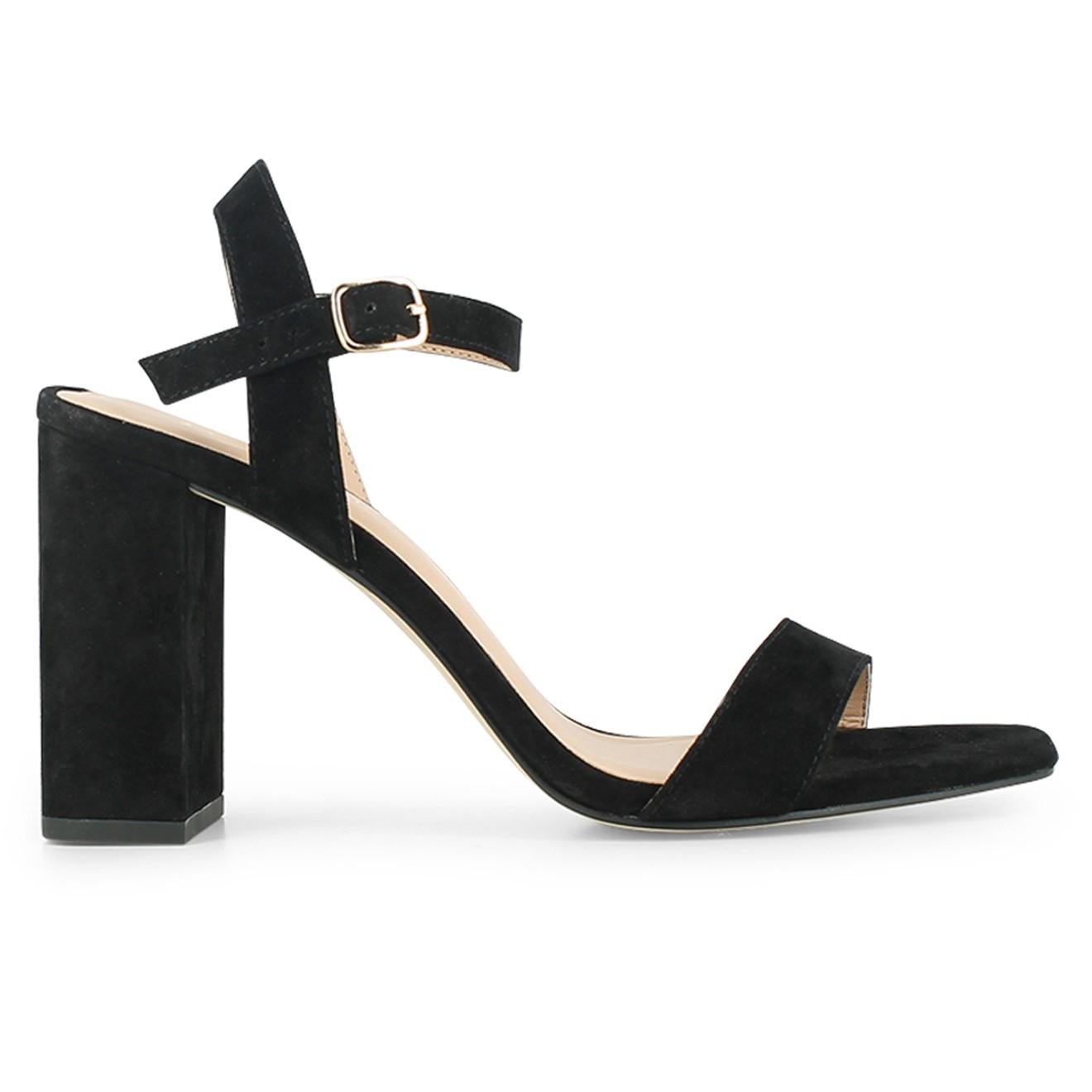 Sandales en velours