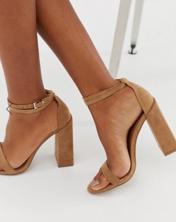 Sandales Marrons à talons