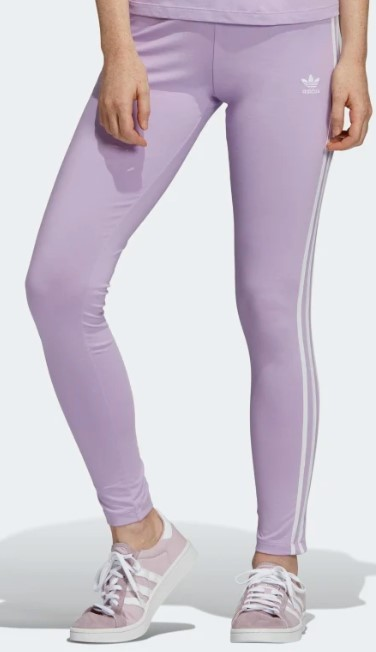 adidas Leggings 3-Stripes violet