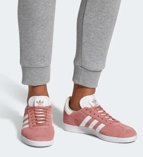 adidas Chaussures Gazelle Rose