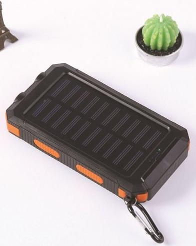 Waterproof Compass Solar Mobile Power Bank