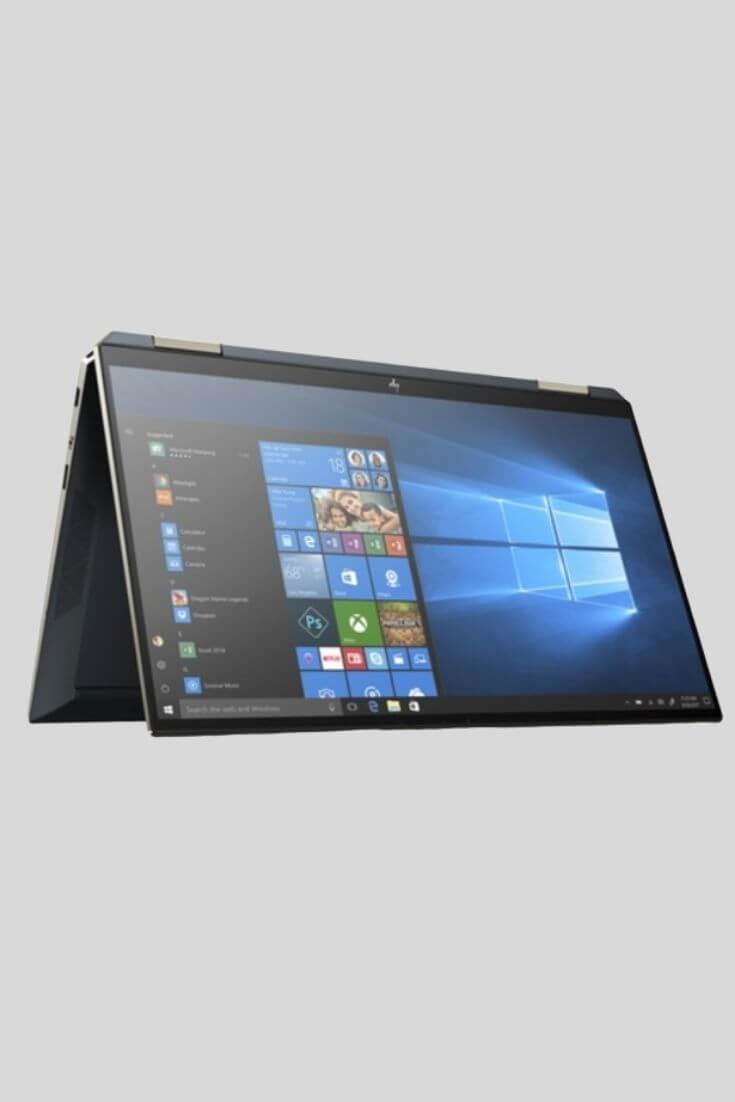 HP Spectre x360 13-aw0005nf - Bleu poséidon