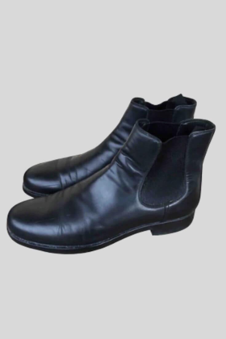 Boots en cuir - Prada
