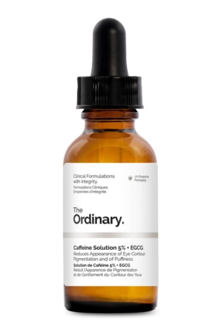 Solution de Caféine 5 % + EGCG The Ordinary 30 ml