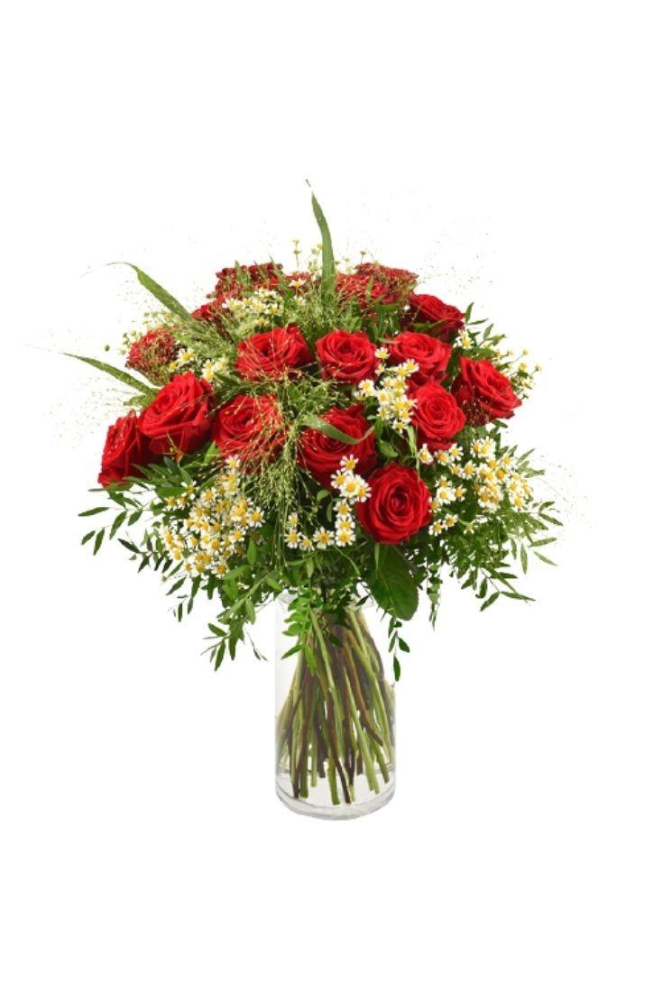 Bouquet Rouge Idylle