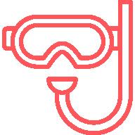 icone masque et tuba