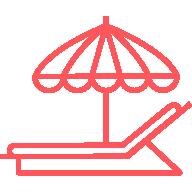icon chaise pliante