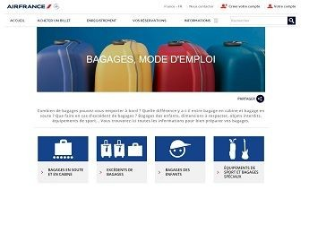 Bagages mode d'emploi